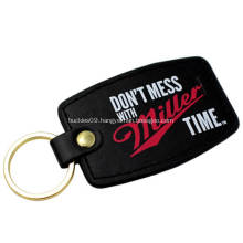 Wholesale Promotional Custom Leather Keychain