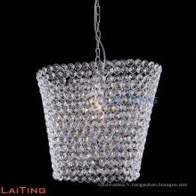 Lustre en verre industriel pendentif lustre intérieur lampe 71105