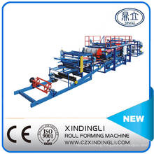 Hot Sale EPS/Rock Wool Composite Sheet Roll Forming Machinery