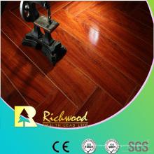Plancher laminé absorbant le son d'érable de miroir de HDF de 12.3mm E0