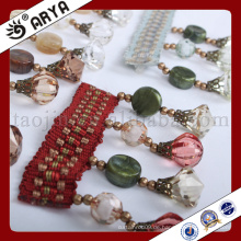 Einfaches Design Multi-Art Perlen Fransen für Vorhang Deko