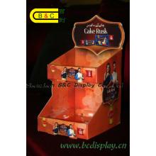 Caja de presentación impresa alta calidad vendedora caliente del PDQ, caja de papel del contador con el SGS (B & C-D059)