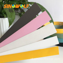 Sampel Gratis 1.0mm PVC Edge Banding Solid Edging