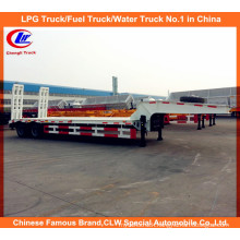40ton 2 Axle Lowbed Semi Trailer, Low Loader Semi Truck Trailer
