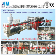 Plastic Plate Machinery PC Hollow Grid Sheet/Plate Production Machine