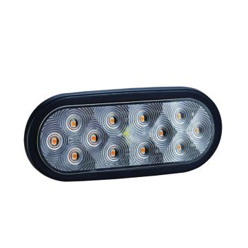 LED Superhellen Oval Anhänger Stop Tail Lamp