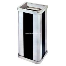 Escaninho de lixo de aço inoxidável de cinza (DK90)