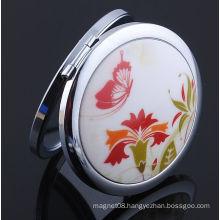 Epoxy Design High Quality Europe Standard 7cm Diameter Makeup Mirror