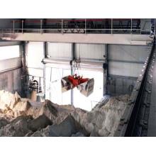 Elektrischer Hydraulikgreifer mit Fernbedienung