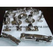 Matériel marin de manille d'acier inoxydable d'OEM (moulage de précision)