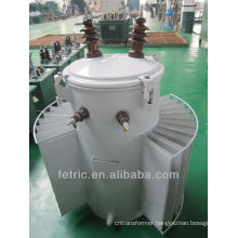 10kv single phase 75kva pole mounted transformer
