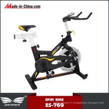 Vélo de Spinning de haut volant de bâtiment de corps de Qaulity lourd pour la forme physique