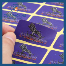 Purple Printing Paper Sticker Label (CMG-STR-007)
