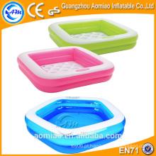Piscina inflável mini-de-rosa ao ar livre para crianças, piscinas de água infláveis para crianças