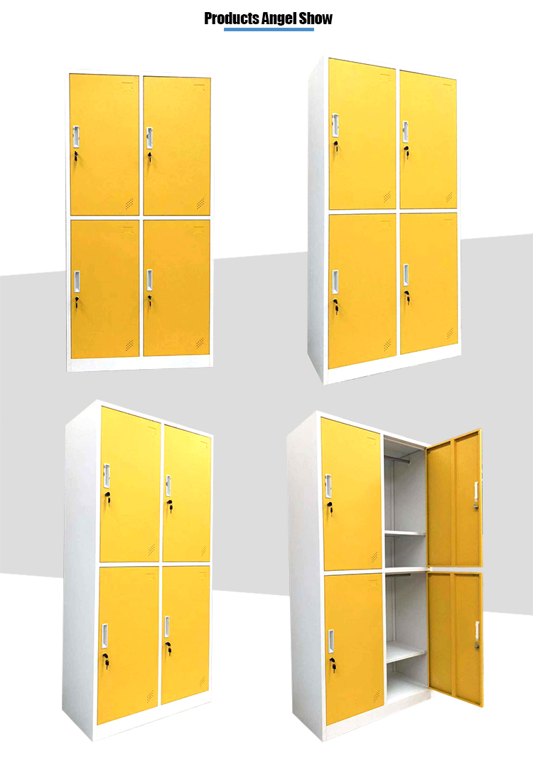 4 door changing room wardrobe