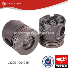 Véritable piston de moteur yuchai J3200-1004015 pour YC6J