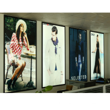 AF2A A4 High quality indoor or outdoor advertising aluminum snap/clip frame extrusion profile for lightbox