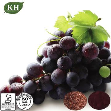 Semilla de uva natural antioxidante y extracto de piel 4: 1; Polifenoles 10%