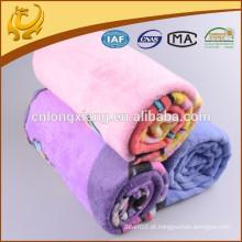 2015 Hot Sale Promoção Produtos Popular e Lovely Design 100% algodão flanela cobertores escovados