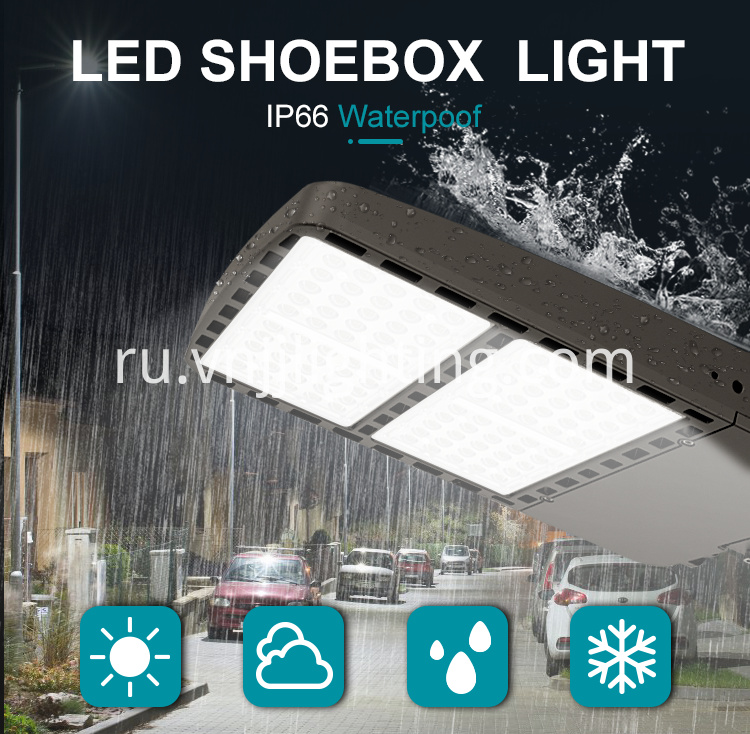 LED Shoebox Area Light Parking Lot Lighting - 1 _ 01