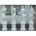 Escultura de mármore esculpido escultura estátua de pedra com granito arenito (SY-X1686)