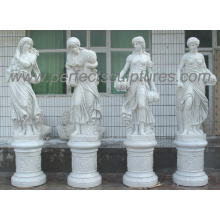 Carving Stone Marble Sculpture Statue for Garden Decoration (SY-X1760)