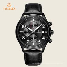 Timesea Mens Sports Quartz en cuir montres 72252