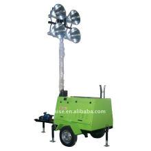 Дизельная световая башня RZZM42C-Ручная работа (башня освещения, передвижная башня освещения, портативная башня освещения)