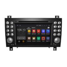 Android 5.1 / 1.6 GHz voiture DVD Navigation GPS pour Mercedes Benz Slk Radio DVD avec téléphone Connecting Hualingan