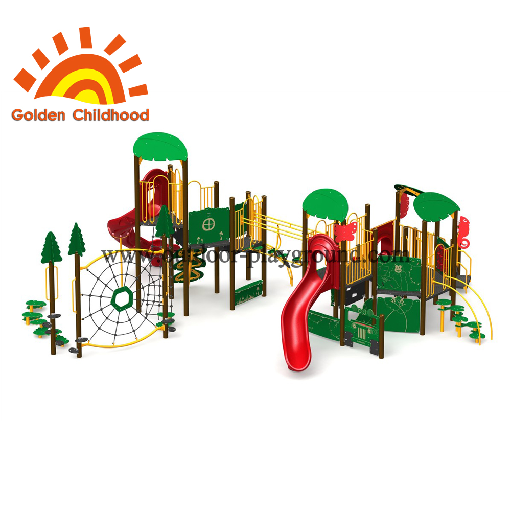 Commercial Christmas Outdoor Playground