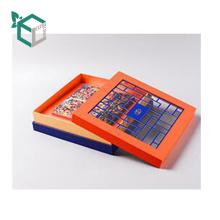 Плоские упакованные жесткий картон складные коробки складные подарочные коробки с магнитной Крышка