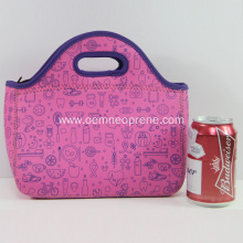 Popular Hot Sale Neoprene Adult Lunch Bags/Picnic Bags