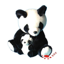 plush panda mama and small panda