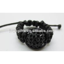 2013 модные сплетенные кольца shamballa