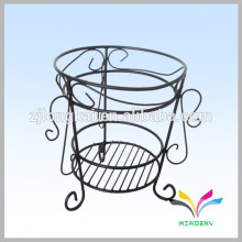 China manufacturer hot sale high quality antique fancy decorative metal outdoor garden corner flower pot stand