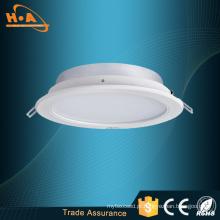 Luminoso comercial residencial do diodo emissor de luz do brilho 12 / 15W baixo