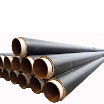 បំពង់ Polyurethane Foam Thermal Insulatied Steel Pipe