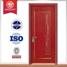 finished house latest design interior pvc wooden door