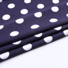 Padrão de pontos Tecido estampado Spandex Cottons