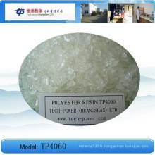 Tp4060 est une résine de polyester saturée de carboxyle pour le revêtement de poudre