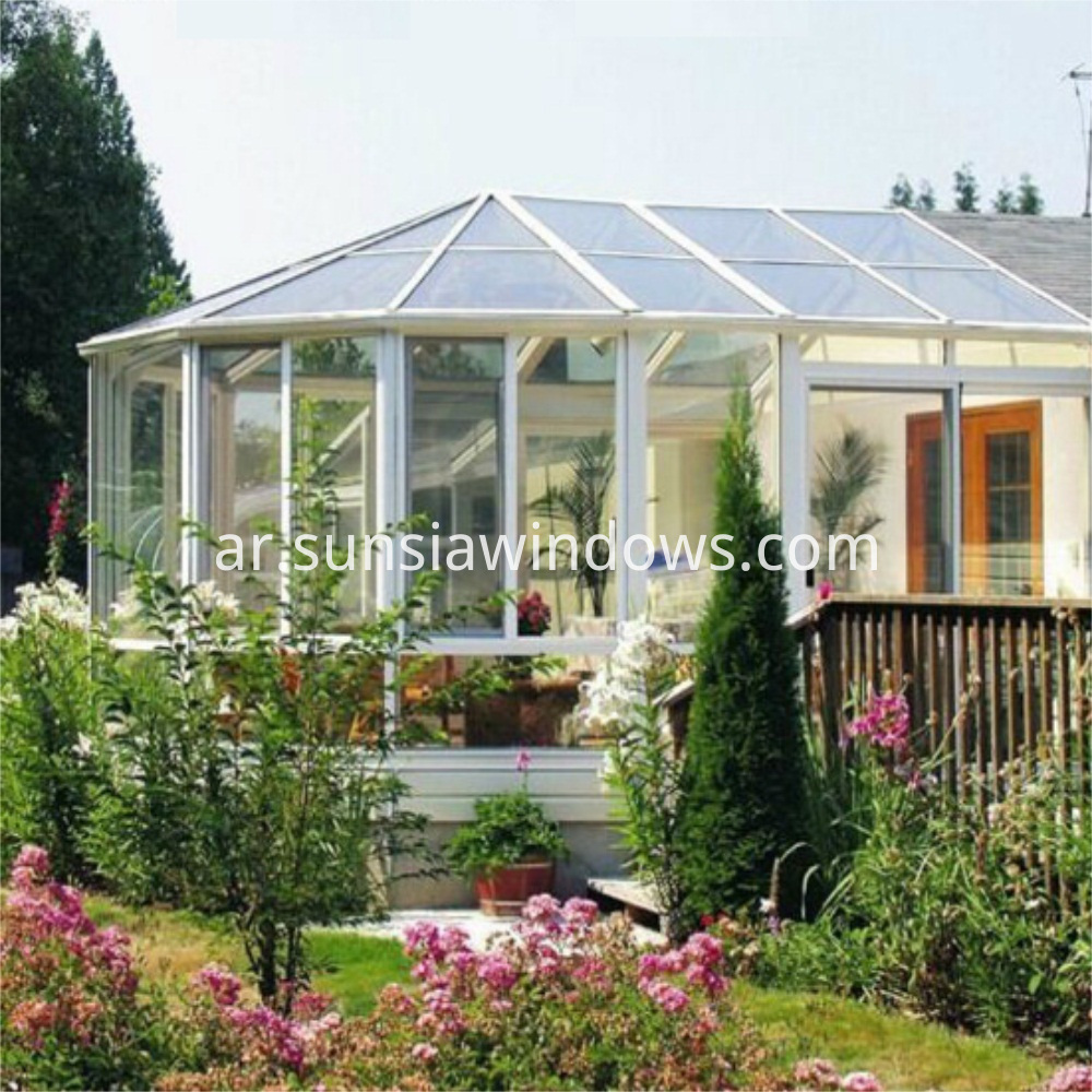 Aluminum Frame Glass Conservatory