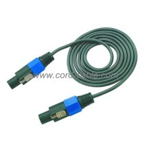 Cable de altavoz DT 2 X 1.5 mm² Speakon a Speakon