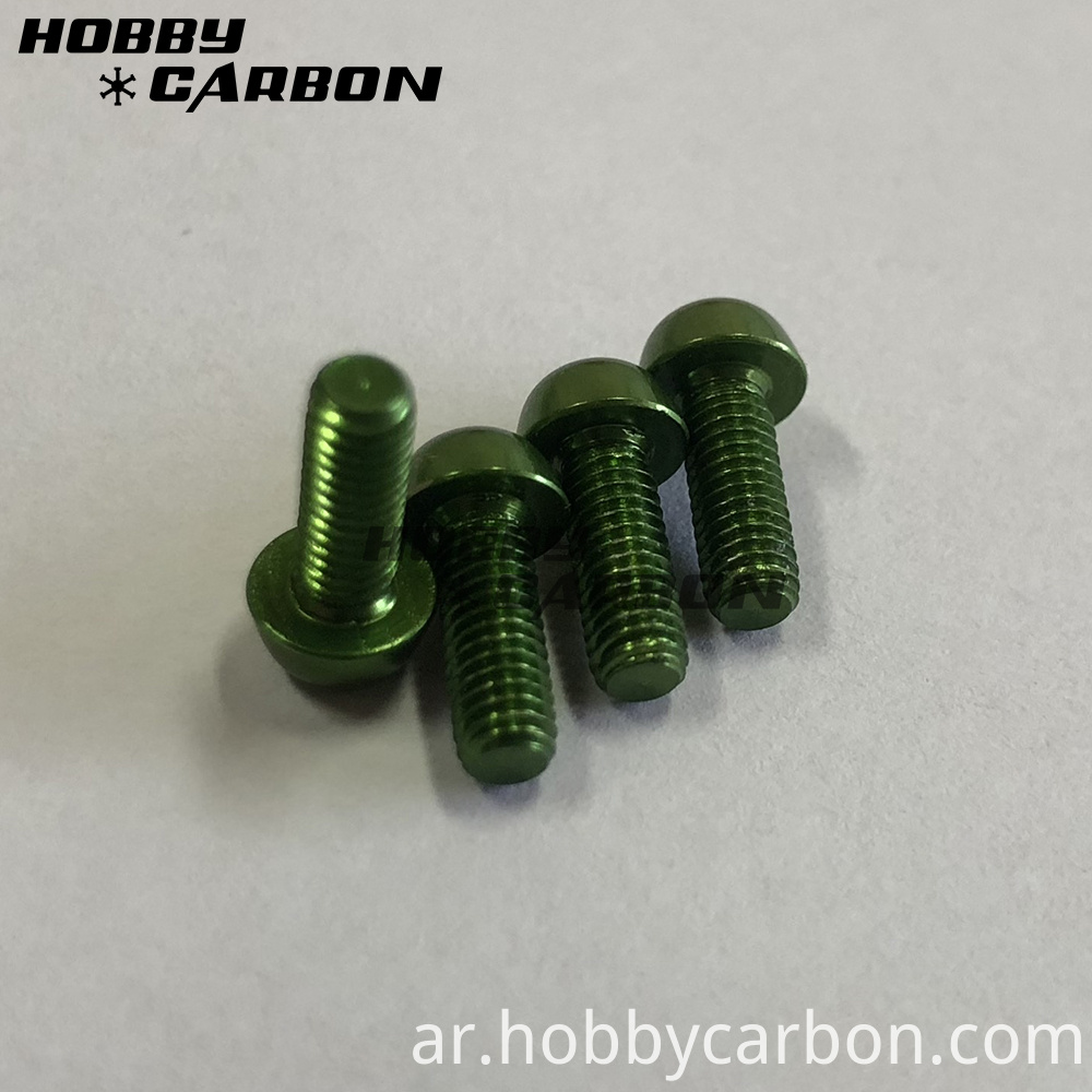 Aluminum Screws M3