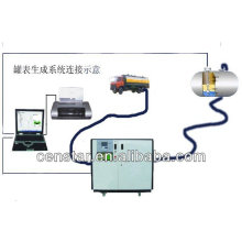 high accuracy digital fuel tank calibration, made in China tank calibration system,