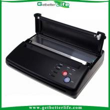Máquina copiadora do estêncil Getbetterlife 2014 profissional, tatuagem preto plástico térmico máquina copiadora