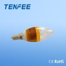 Алюминий E14 водить свечой лампы высокого качества