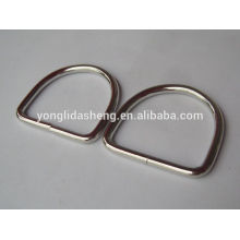 Custom cheap hot selling various metal stamp d ring for wholesale