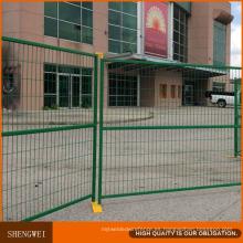 Paneles de vallas de sitios de construcción temporales extraíbles