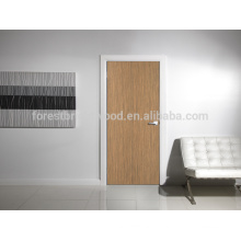 Simple design interior carved wooden door