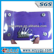 Alta qualidade promocionais vinil PVC malote chave /Holder
